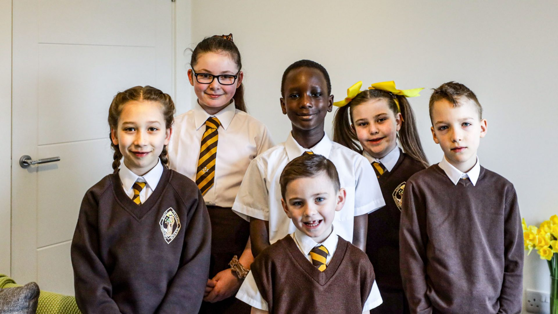 Over 450 pupils from St Francis Primary School visit Laurieston Living