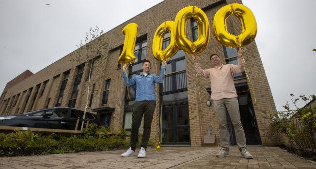 Urban Union's Milestone - Handing Over Our 1000th Property!