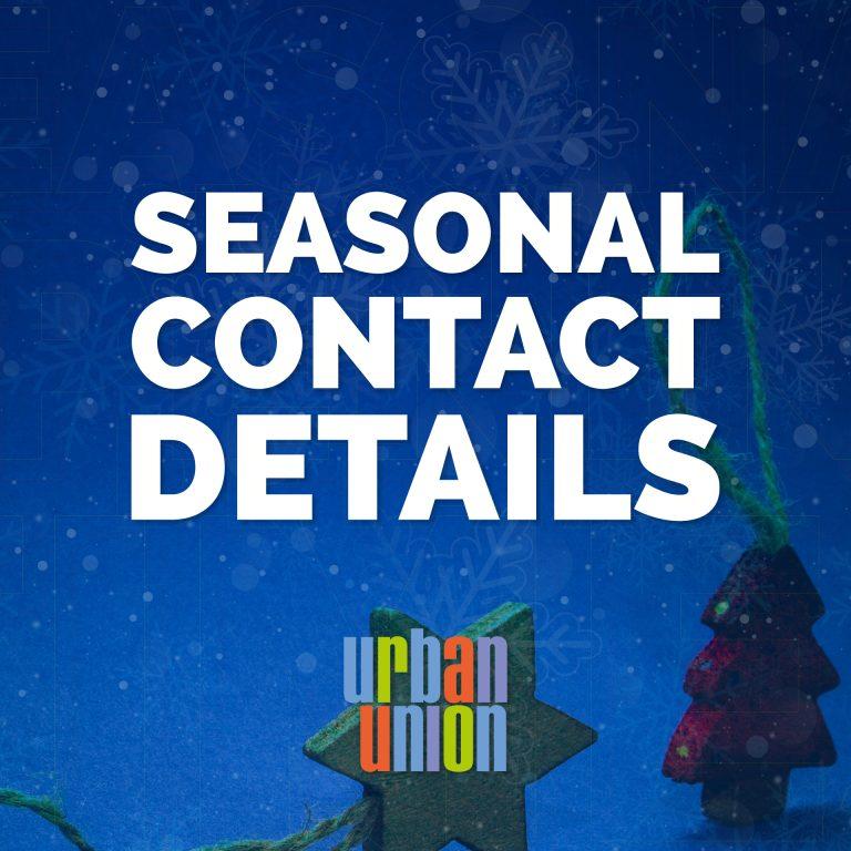 Seasonal Contact Details