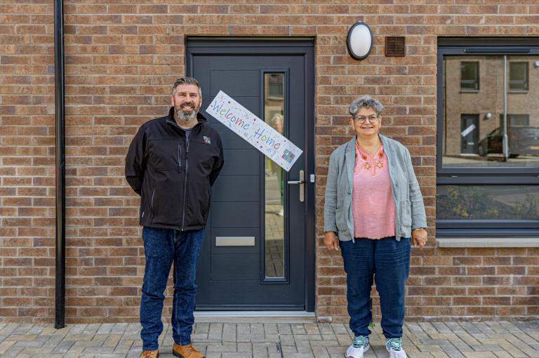 Handing Over Our First Pollokshaws Living Properties